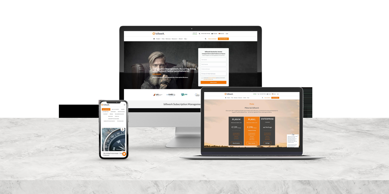 Responisve Webseite - Billwerk
