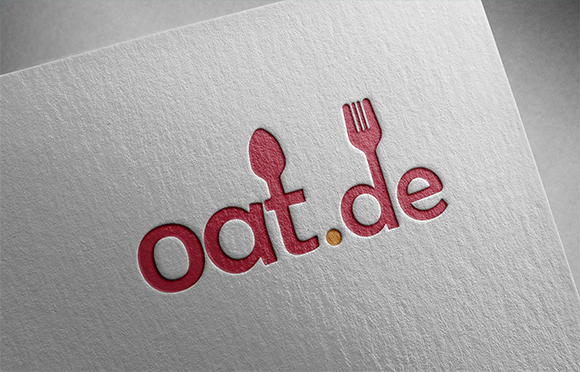 Oat.de Logo Design