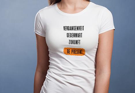 be present_T-Shirt