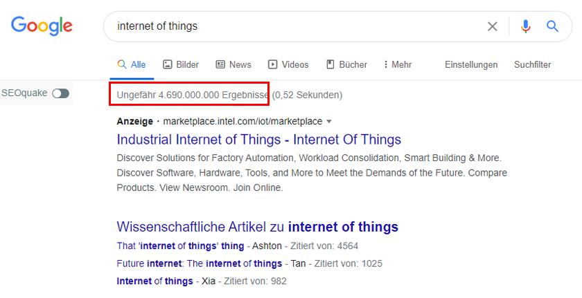 Google - Internet of Things