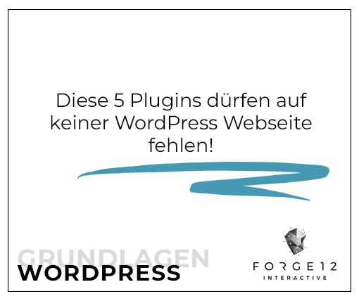 WordPress Must-have Plugins
