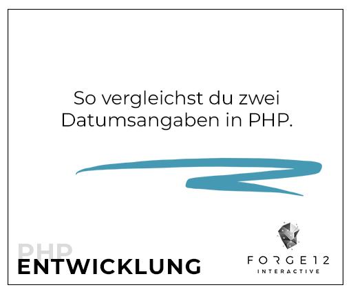 Datum in PHP vergleichen