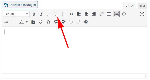 TinyMCE Editor WordPress